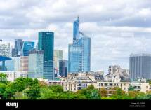 Paris Buildings Balcony Stock &
