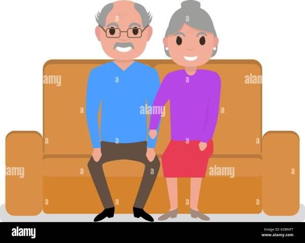 Granny Cartoon Stock &