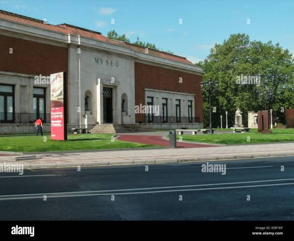 Bilbao Fine Arts Museum Stock & - Alamy