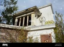 Graffiti Building Ny Stock &