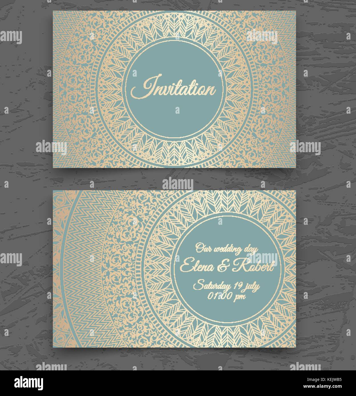 https www alamy com stock image vintage wedding invitation or business card templates cover design 163913545 html