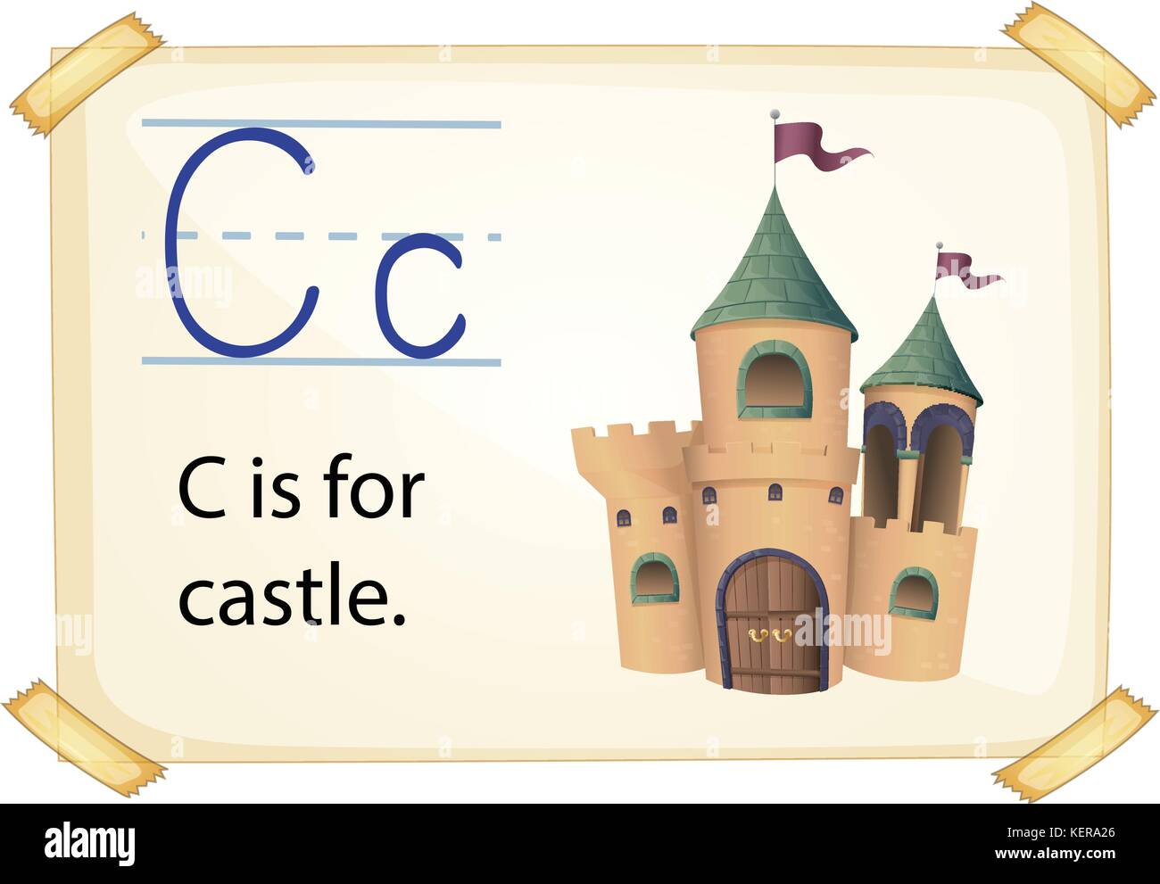 Cartoon Letter C Cut Out Stock Images Amp Pictures