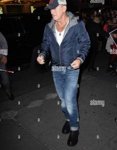 Bruce springsteen seen also walter kerr theatre stock photos  images rh alamy