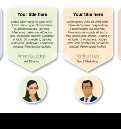 design speech diagram for infographic and website creative testimonials template  [ 1300 x 740 Pixel ]