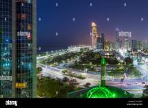 Abu Dhabi People Road Stock &