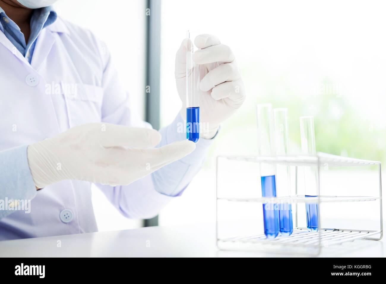 Laboratory Chemical Preparation Hand Stock Photos Amp Laboratory Chemical Preparation Hand Stock