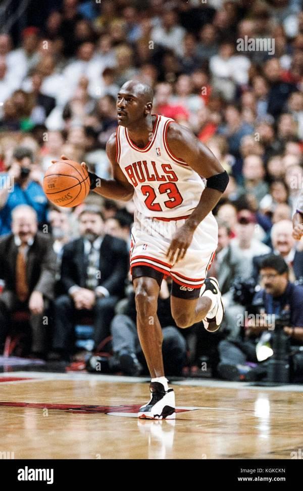 Michael Jordan Bulls Stock &