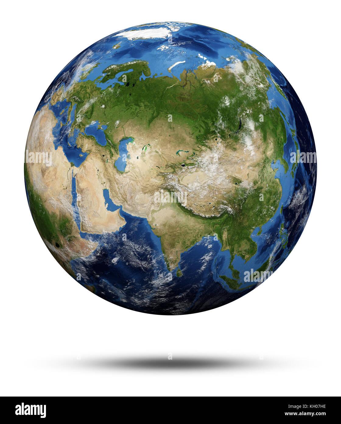 Globe Map 3d : globe, Planet, Earth., Earth, Globe, Rendering,, Courtesy, Stock, Photo, Alamy