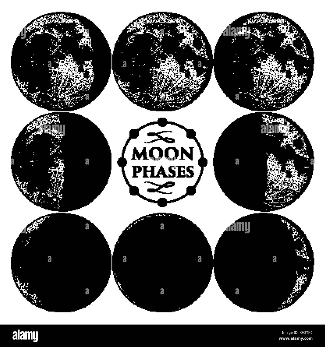 phases of the moon diagram to label sony cdx gt330 wiring circle stock photos and