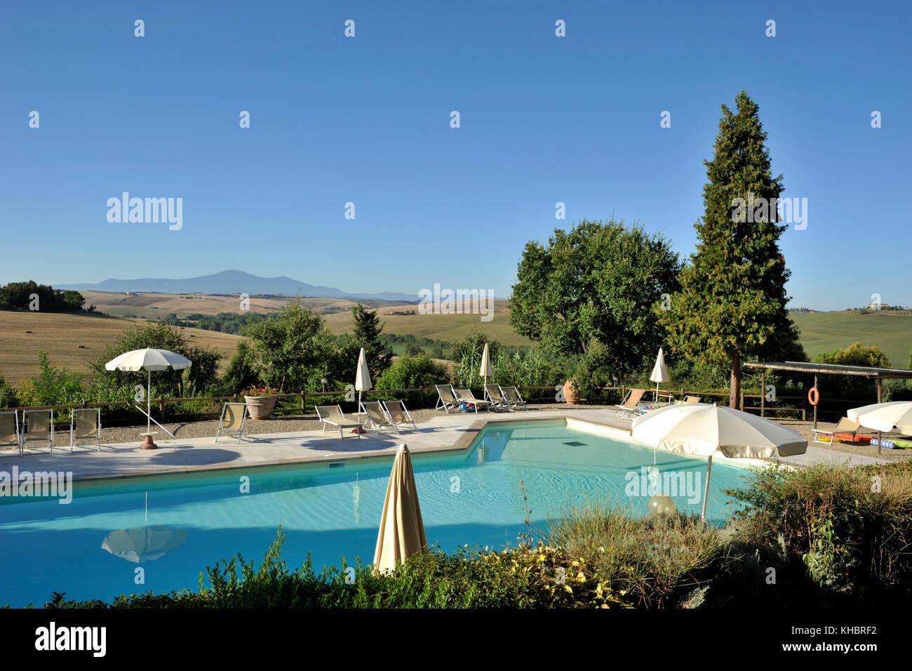 Italy Tuscany Crete Senesi Trequanda Azienda Pometti