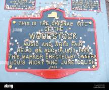 Woodstock 1969 Stock &