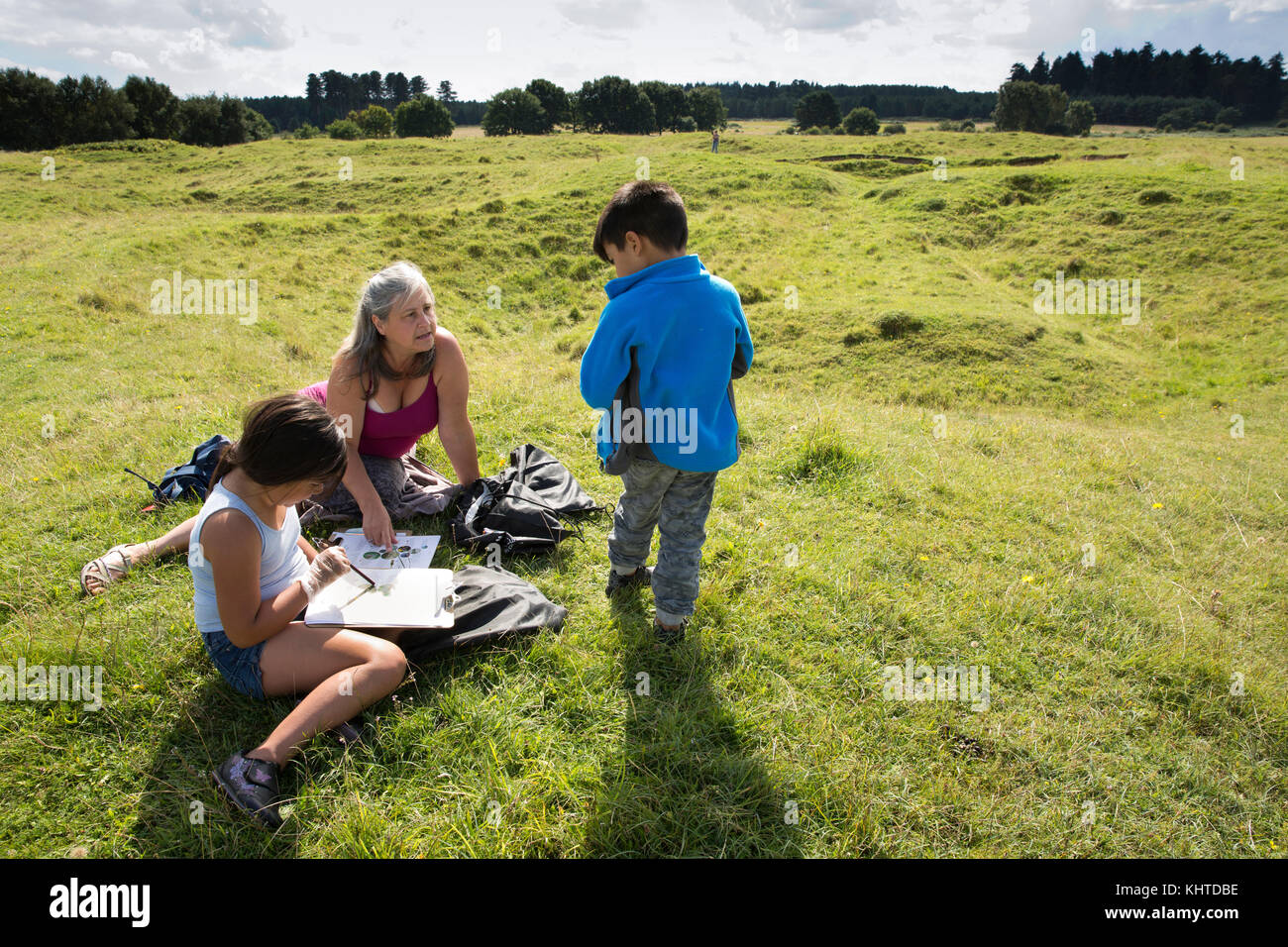 Grimes Graves Stock Photos Amp Grimes Graves Stock Images