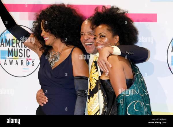 Diana Ross Berry Gordy And Rhonda Kendrick Attend 2017 Stock 165999772 - Alamy