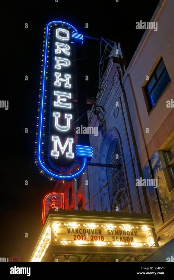Orpheum Theatre Stock &