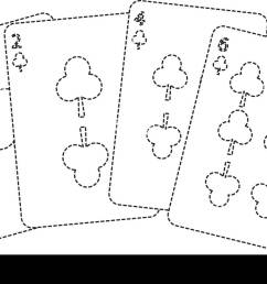 clover or clubs suit french playing cards icon image stock image [ 1300 x 863 Pixel ]