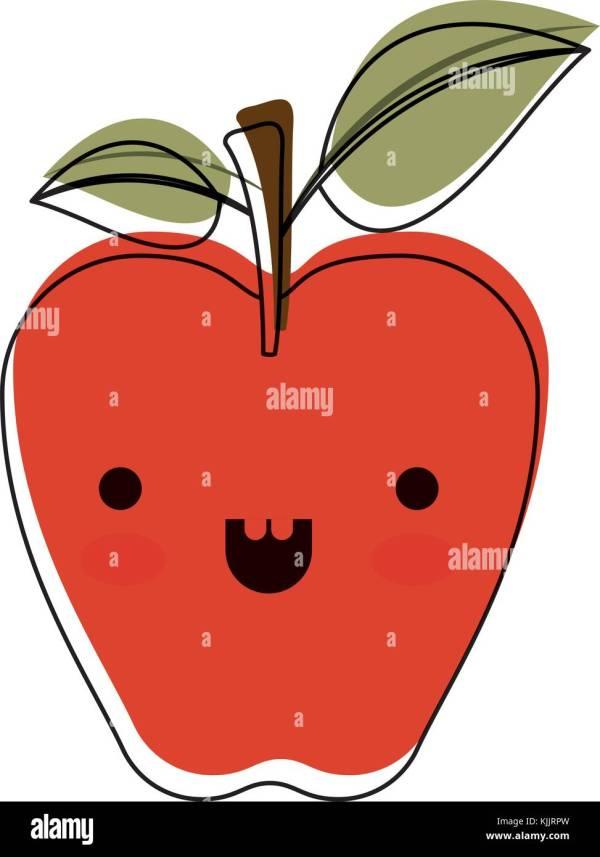 Apple Stem Stock Vector - Alamy