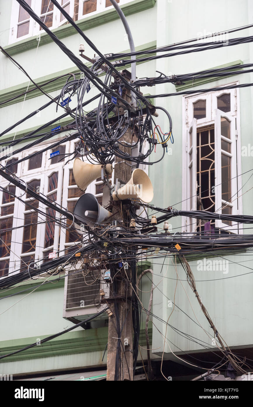 hight resolution of open and unordered telecommunications and cable harness in hanoi vietnam