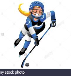 ice hockey vector cartoon clipart winter sports background with hockey athlete playing winter olympics competition [ 1300 x 955 Pixel ]