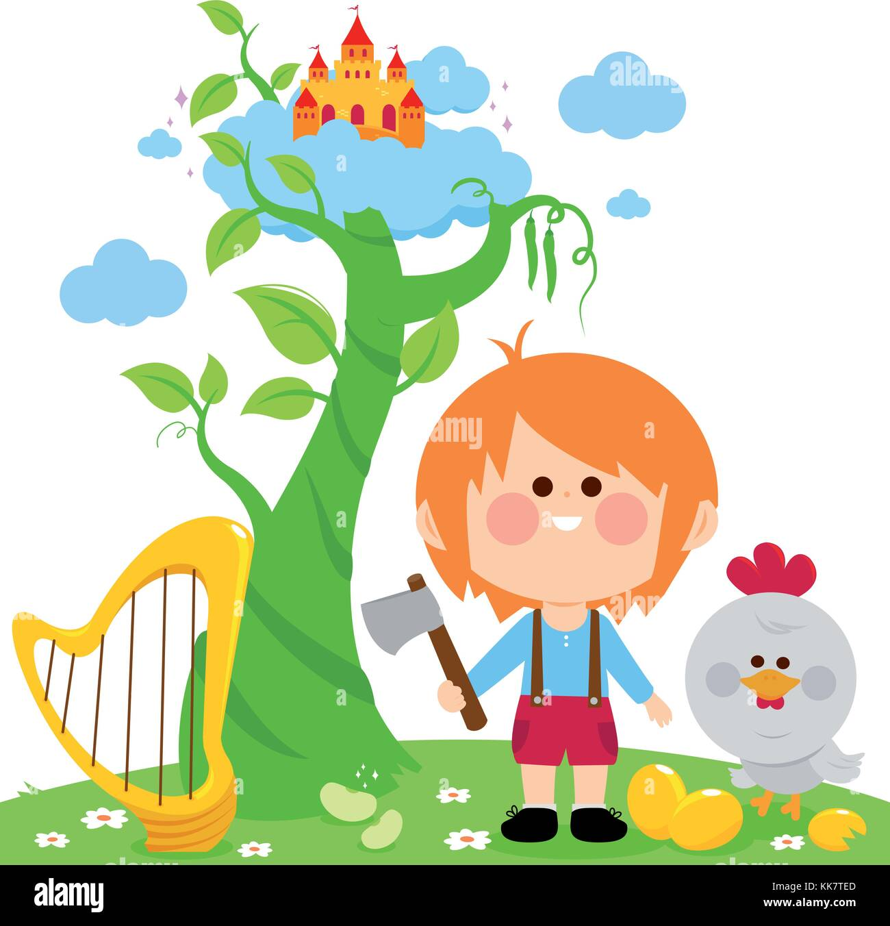 Jack And The Beanstalk Stock Photos Amp Jack And The
