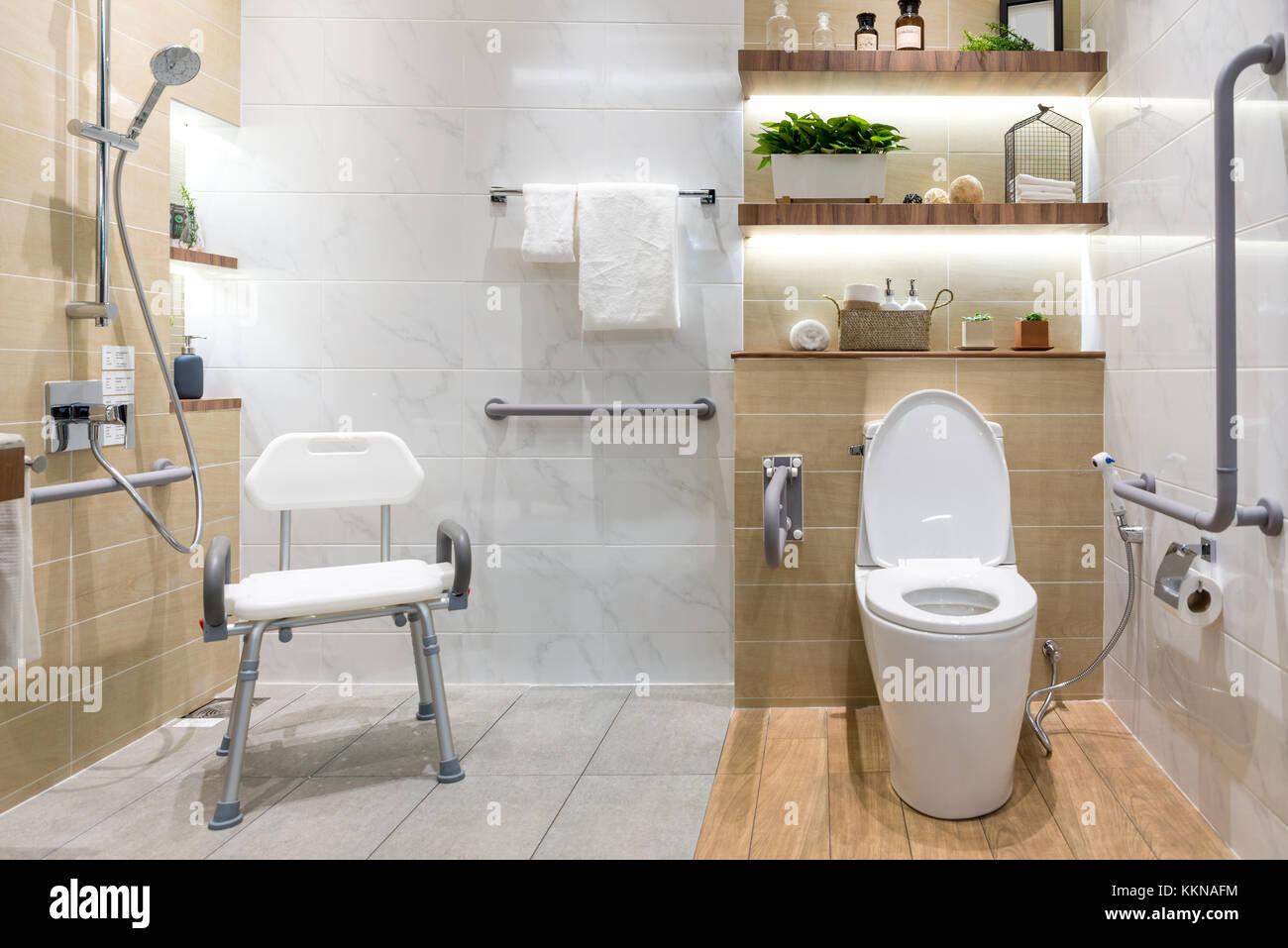 Handrail Bathroom Stock Photos  Handrail Bathroom Stock