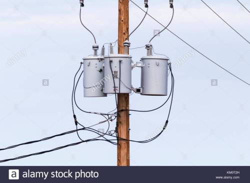 small resolution of three phase power transformers on pole in arizona usa