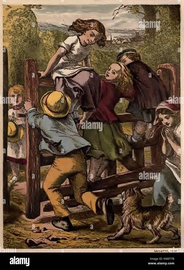 Historic Coloured Victorian Children' Abc Book