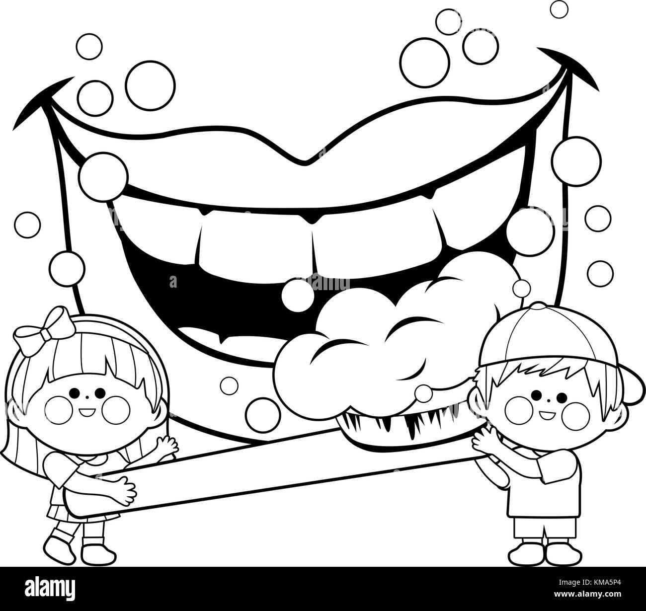 Brushing Teeth Black And White Stock Photos Amp Images