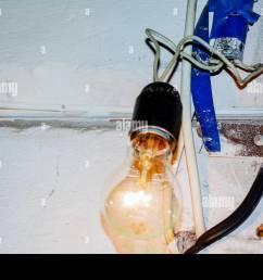 bad electrical wiring stock image [ 1300 x 956 Pixel ]