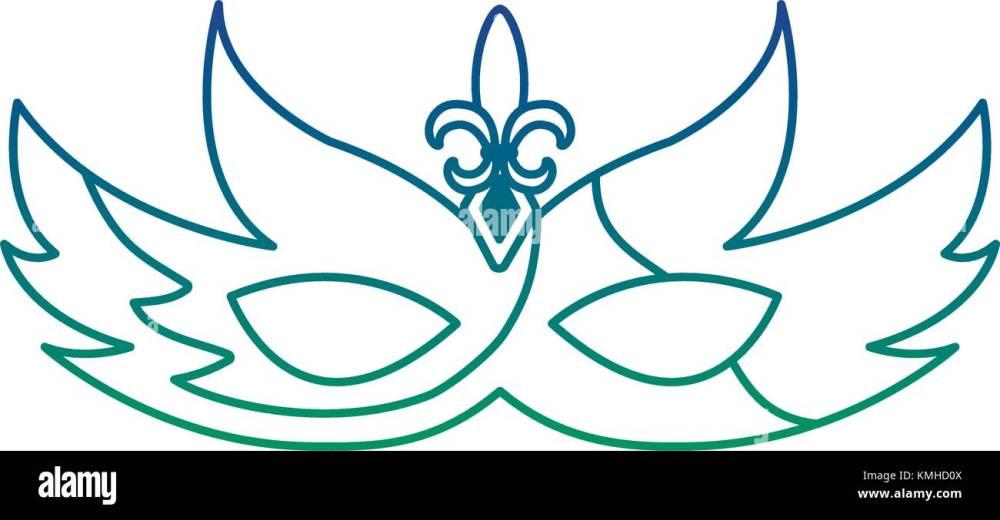 medium resolution of mardi gras glitter mask with fleur de lis carnaval
