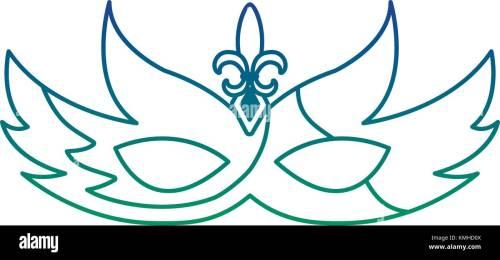 small resolution of mardi gras glitter mask with fleur de lis carnaval
