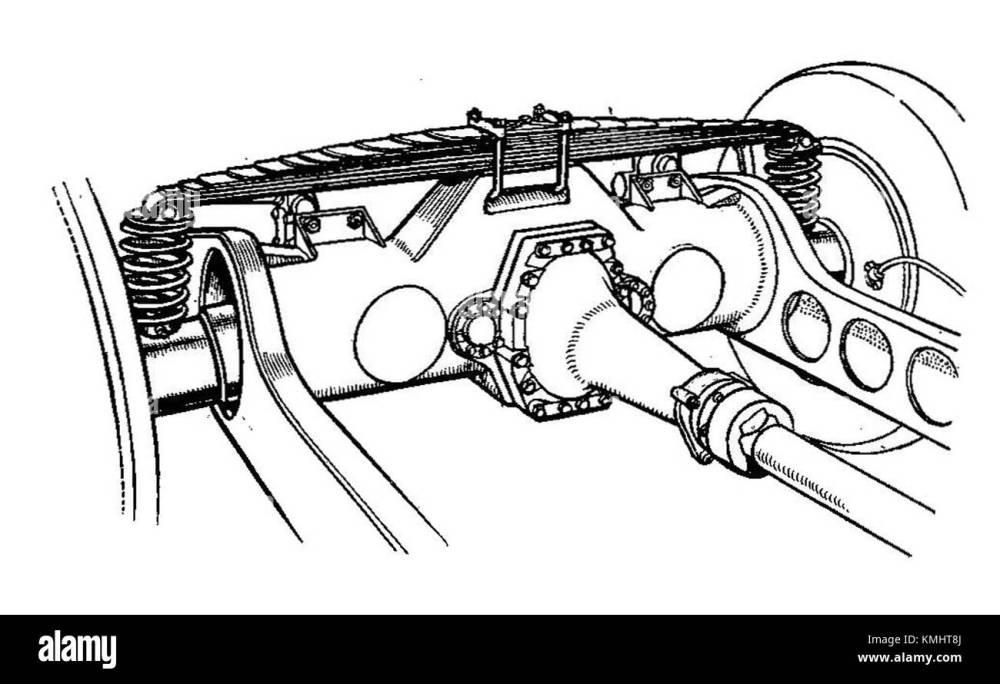 medium resolution of maybach rear swing axle autocar handbook 13th ed 1935