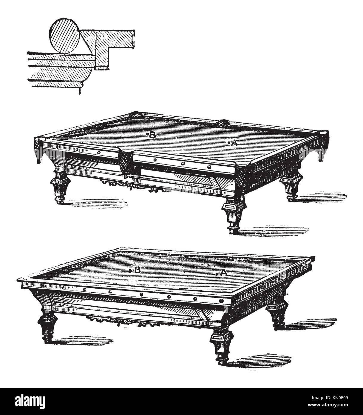 hight resolution of billiard table and carom billiards tables vintage engraved illustration of billiard table and carom