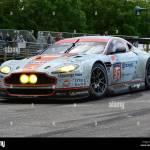 Aston Martin V12 Vantage Gt3 Goodwood Festival Of Speed 2014 2014 Stock Photo Alamy