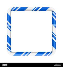 candy cane frame border for christmas design isolated on white background [ 1300 x 1390 Pixel ]