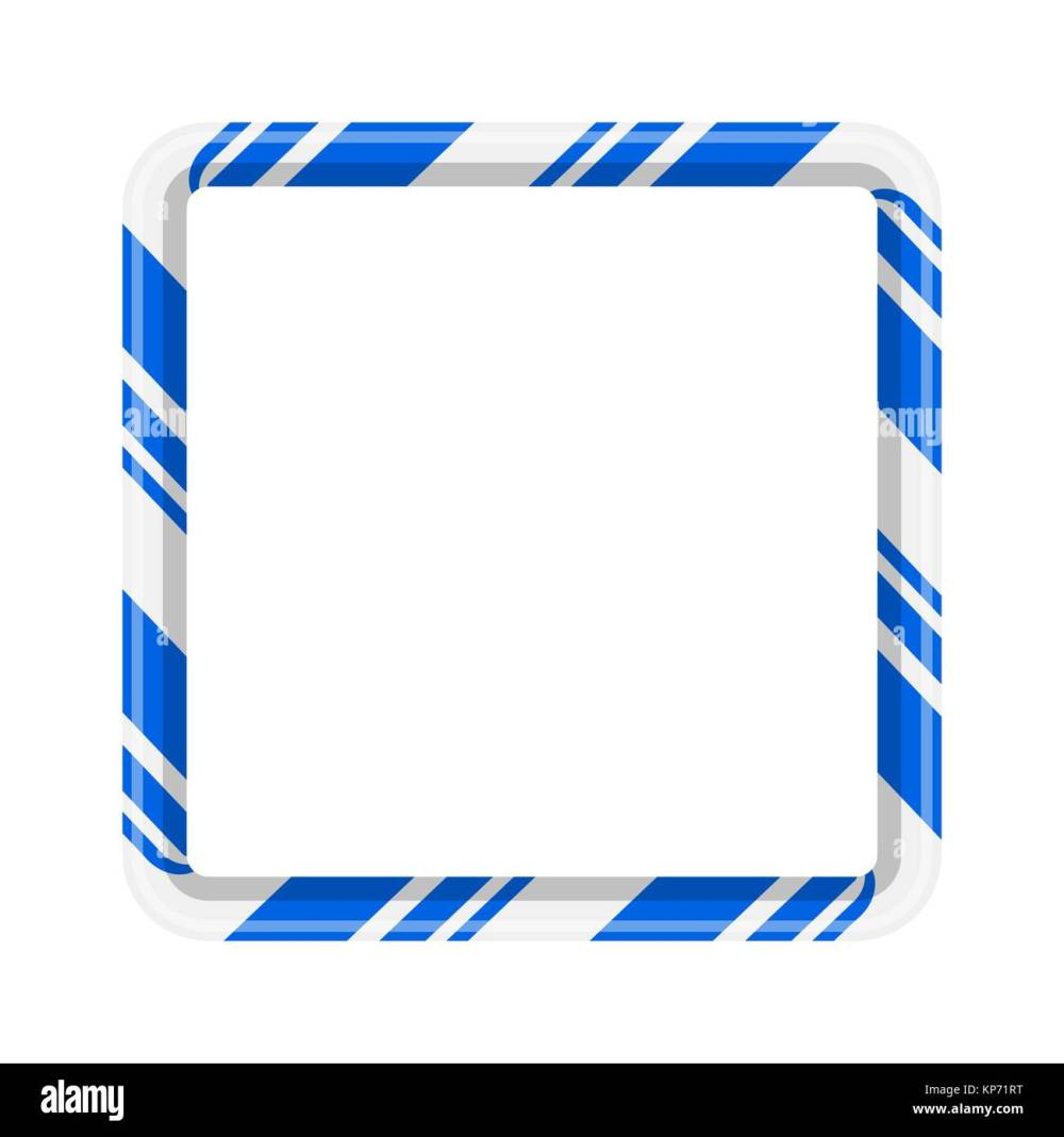 medium resolution of candy cane frame border for christmas design isolated on white background