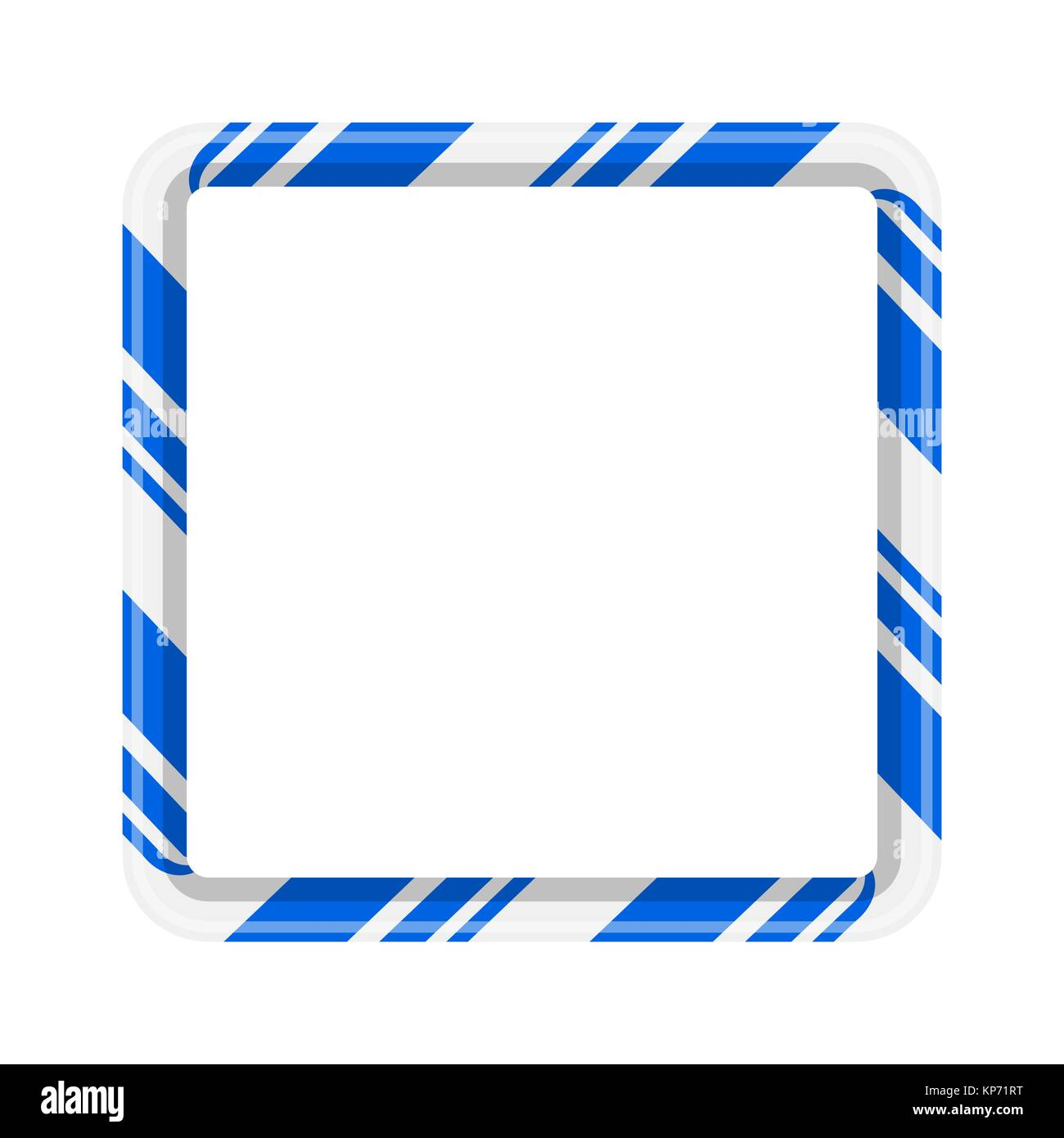 hight resolution of candy cane frame border for christmas design isolated on white background