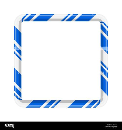 small resolution of candy cane frame border for christmas design isolated on white background