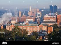 Vulcan Birmingham Alabama Skyline