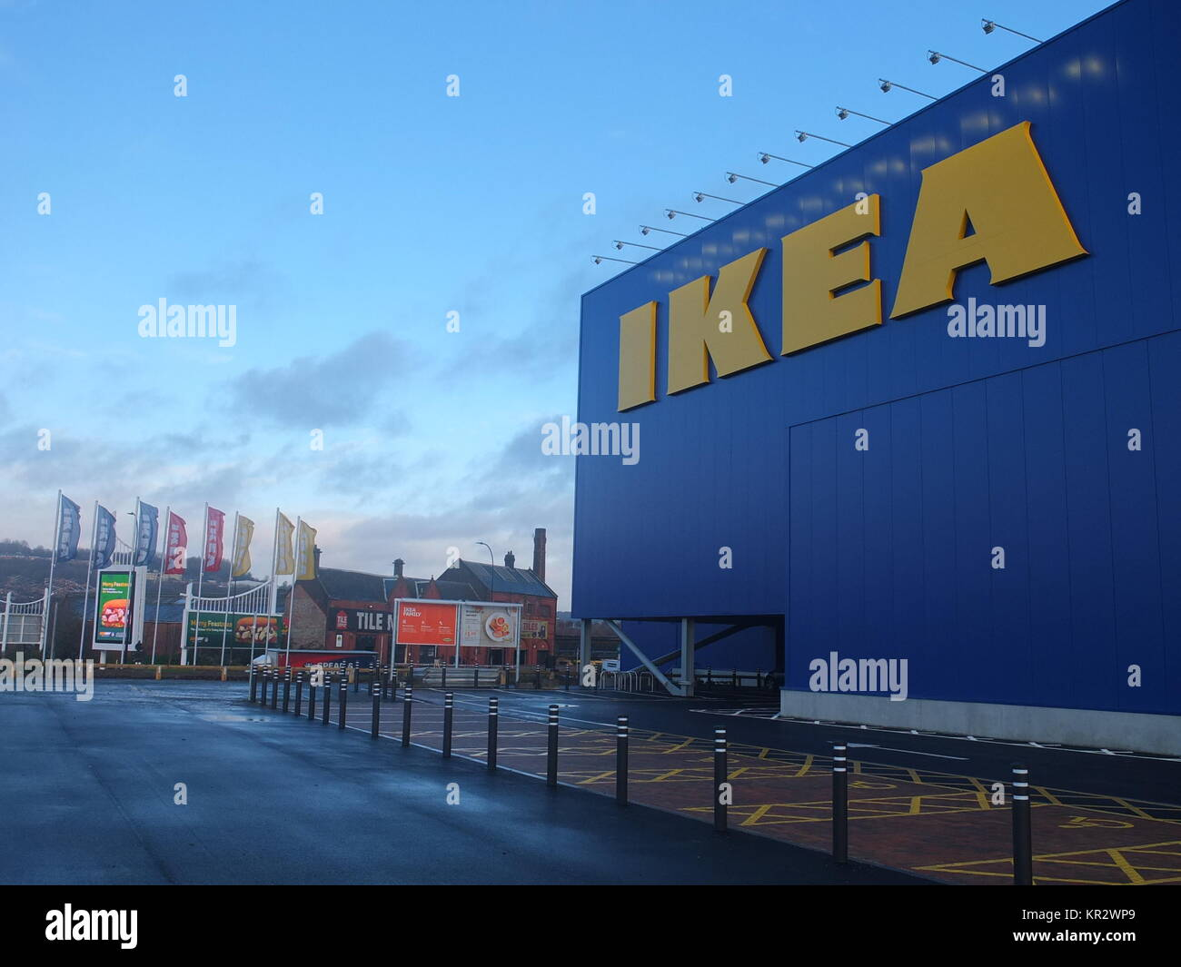 Exterior Of New Ikea Store In Sheffield Opened In 2017