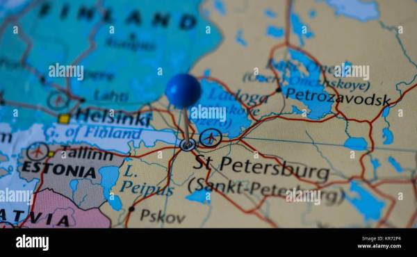 20 St Petersburg Location On World Map Pictures And Ideas On Meta