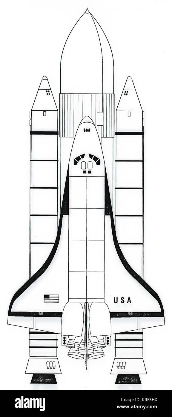 hight resolution of space shuttle diagram