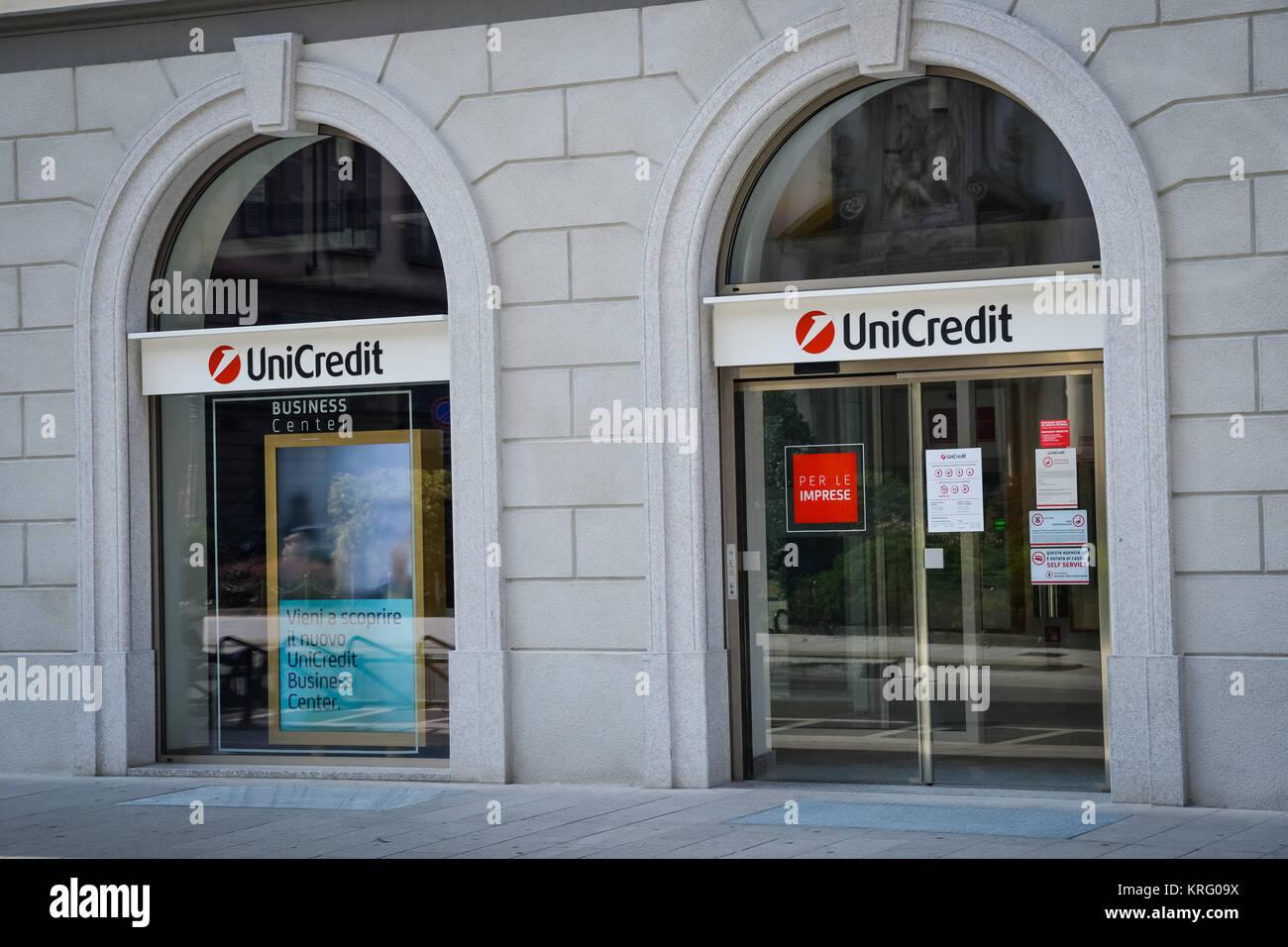 Unicredit Bank In Milan Stock Photos  Unicredit Bank In Milan Stock Images  Alamy