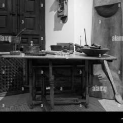 European Kitchen Gadgets Storage Cabinet Etnografia Stock Photos And Images Alamy