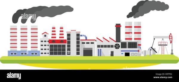 industrial revolution factory smoke