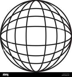 earth globe diagram icon image vector illustration design [ 1299 x 1390 Pixel ]