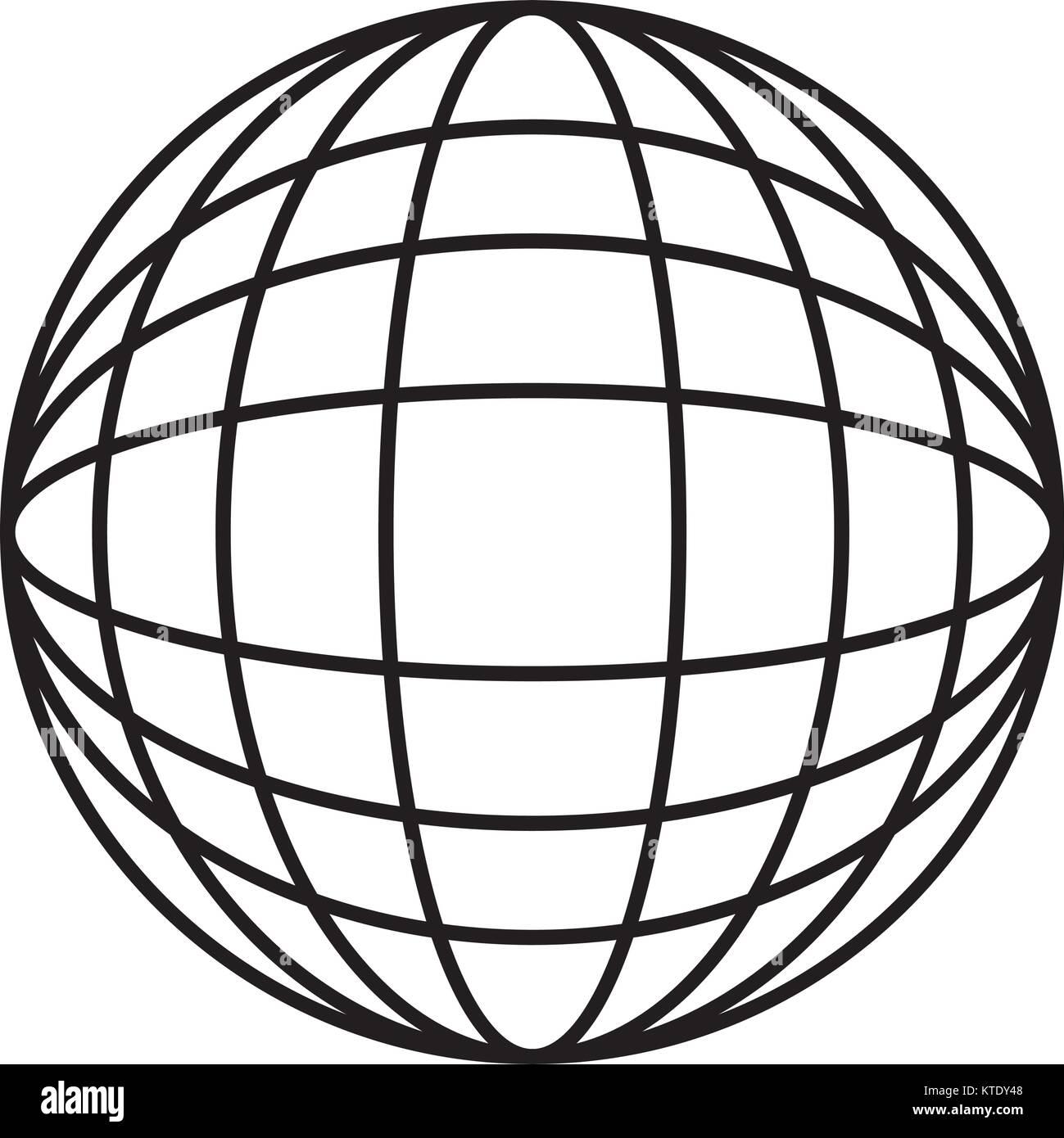 hight resolution of earth globe diagram icon image vector illustration design