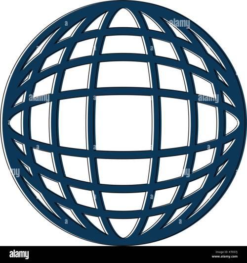 small resolution of earth globe diagram icon image vector illustration design stock image
