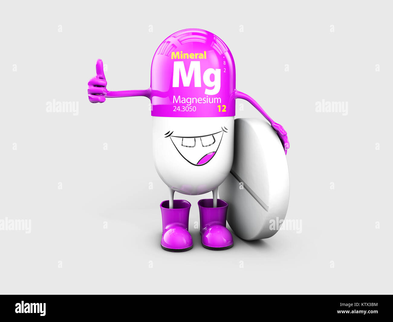 hight resolution of mineral mg magnesium shining pill cartoon capsule icon 3d illustration stock image