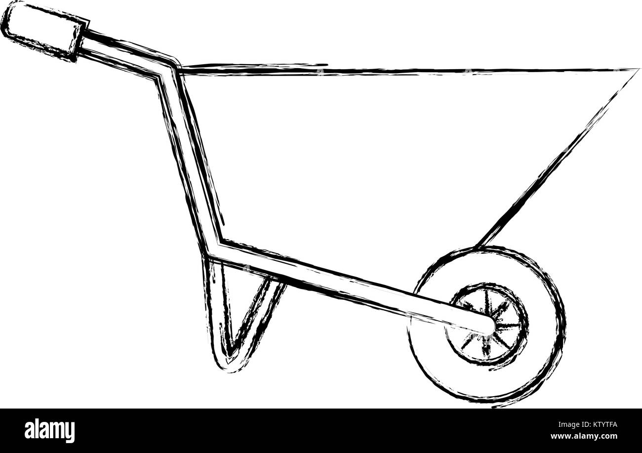 images How To Draw A Simple Wheelbarrow https www alamy com stock photo wheel barrow isolated icon vector illustration design 170257006 html