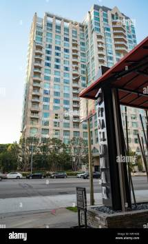 Beverly Hills Hotel California Stock &